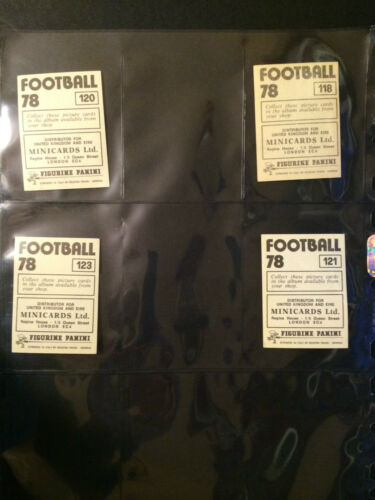 CARDS 101 TO 150 PANINI FOOTBALL 78 ***PICK THE CARDS YOU NEED*** G