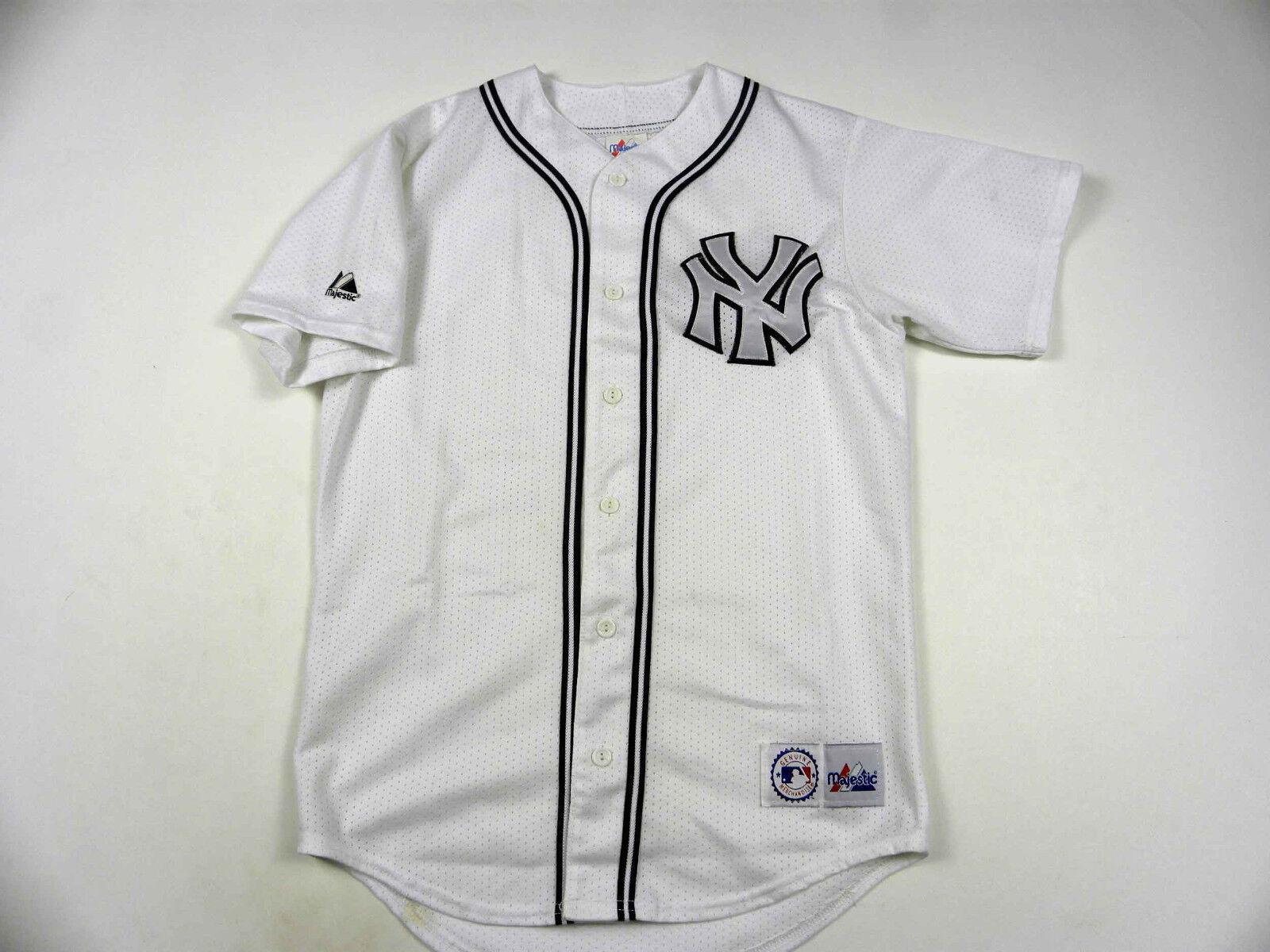 VINTAGE MLB Baseball New York Yankees Jersey Shirt made in USA