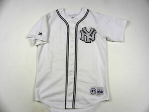 online retailer 5176f 332f6 Details about * VINTAGE MLB Baseball New York Yankees Jersey Shirt made in  USA