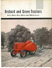 International Harvester Mccormick Orchard Amp Grove Tractors Brochure O 4 O 6 Os 4
