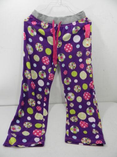 New Jenni Purple Sleep Pant With Ornaments Size Large