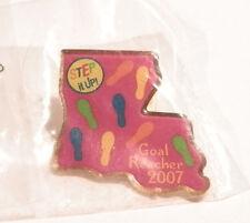 2007 Girl Scout Cookies Goal Reacher Louisianna Pin NEW