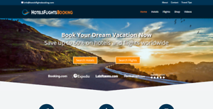 PREMIUM-Travel-Affiliate-Website-Hotels-amp-Flights-Search-Free-Hosting