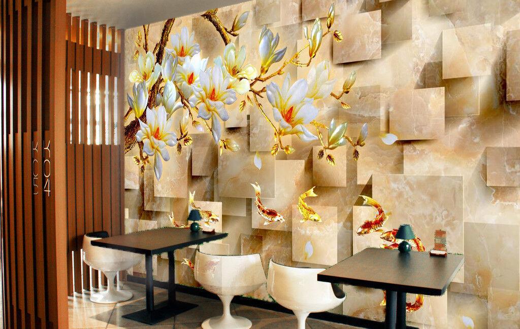 3D Flower Modern 88 Wallpaper Mural Wall Print Wall Wallpaper Murals US Carly