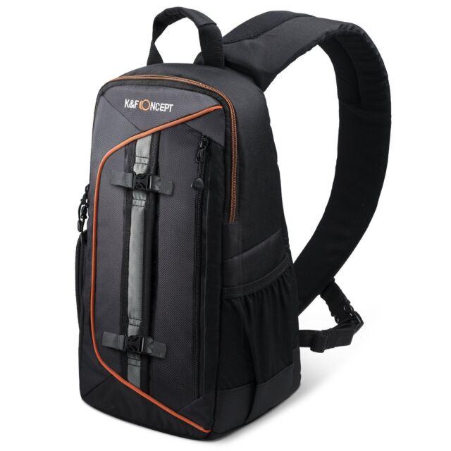 K&F Concept Camera Backpack Rucksack Slingshot Edge Bag Waterproof Case for DRSL