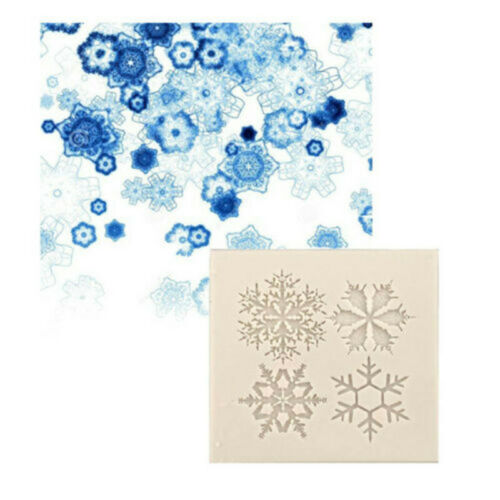 Mould Jewelry Making Silicone Mold Gift Epoxy Snowflake Craft Resin DIY  Tool