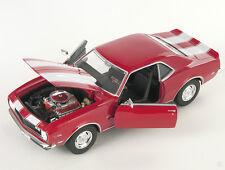 BLITZ VERSAND Chevrolet Chevy Camaro Z28 1968 rot red Welly Modell Auto 1:24 NEU