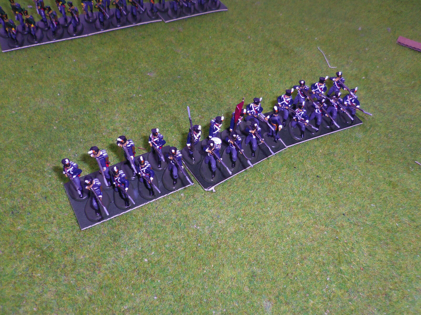 1 72 20mm painted Napoleonic Dutch infantry 1815
