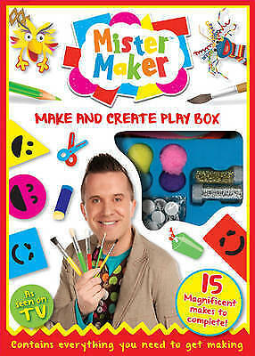 NEW BOX  Mister Maker MAKE AND CREATE PLAY BOX with 15 Magnifcent makes complete