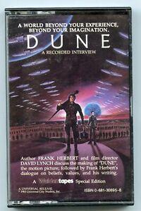 Dune Interview Cassette Tape Frank Herbert - David Lynch Special Edition - BP748