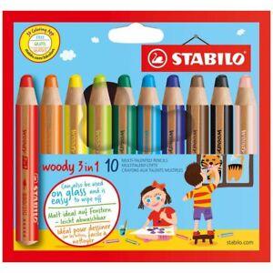 STABILO Easy Hexagonal Graphite Pencils 160 HB Blister Pack of 10