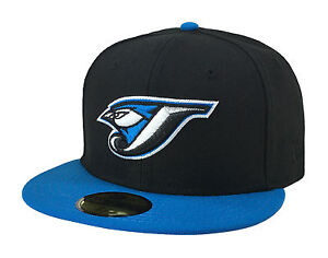 f6d42e7f9f9 New Era 59Fifty MLB Cap Toronto Blue Jays Cooperstown Fitted Hat ...