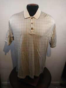 Pebble Beach Polo >> Details About Pebble Beach Polo Shirt Men S Xl 60s Two Ply Mercerzed Cotton