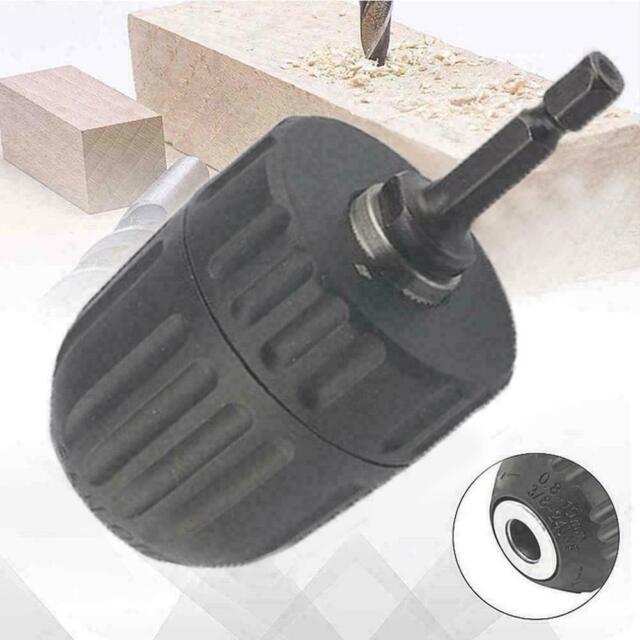 0,8-10mm Schnellspannbohrfutter Konverter Bohrfutter Sechskantschaft mit Ad Z0C0