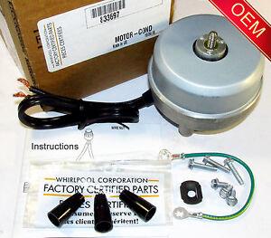 833697 PS395284 Sears Condensor Fan Motor for Whirlpool AP3120994 Kenmore