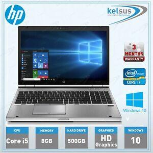 HP-EliteBook-8460p-Core-i5-2-6GHz-8GB-RAM-500GB-HDD-Windows-10