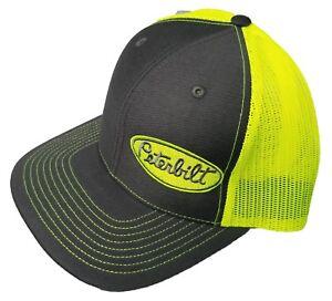 390057801c3 Image is loading Richardson-Peterbilt-Logo-Snapback-Hat-Custom-Trucker-Cap-