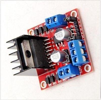 2014  Dual H Bridge DC Stepper Motor Drive Controller Board Module Arduino L298N