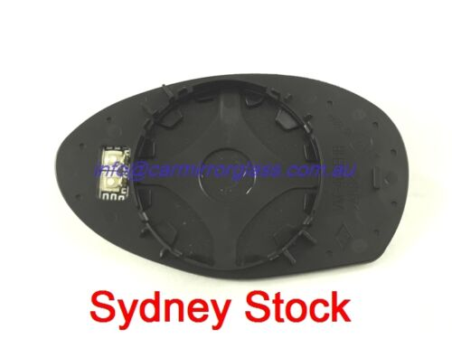 RIGHT DRIVER SIDE ALFA ROMEO 147 2000-2011 MIRROR GLASS WITH HEATED BASE