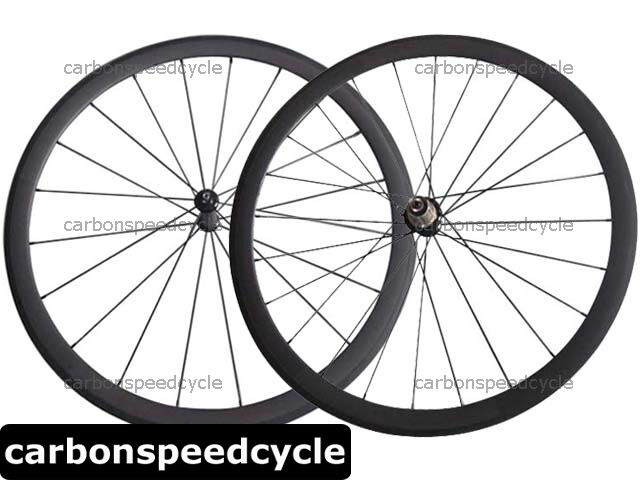 Full Carbon Road Cycling 23mm Width 38mm Tubeless Wheel Straight Pull R36 Hub