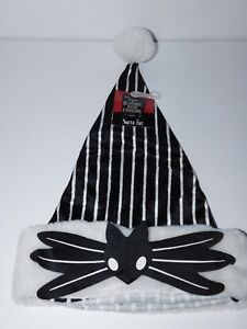 image is loading new w tag nightmare before christmas black amp - Nightmare Before Christmas Santa Hat