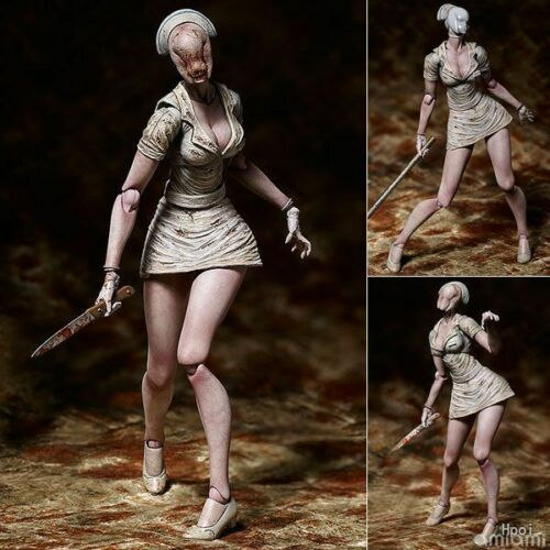 Silent Hill 2 6In. Bubble Head Nurse PVC Action Figure Toy Collection Gift