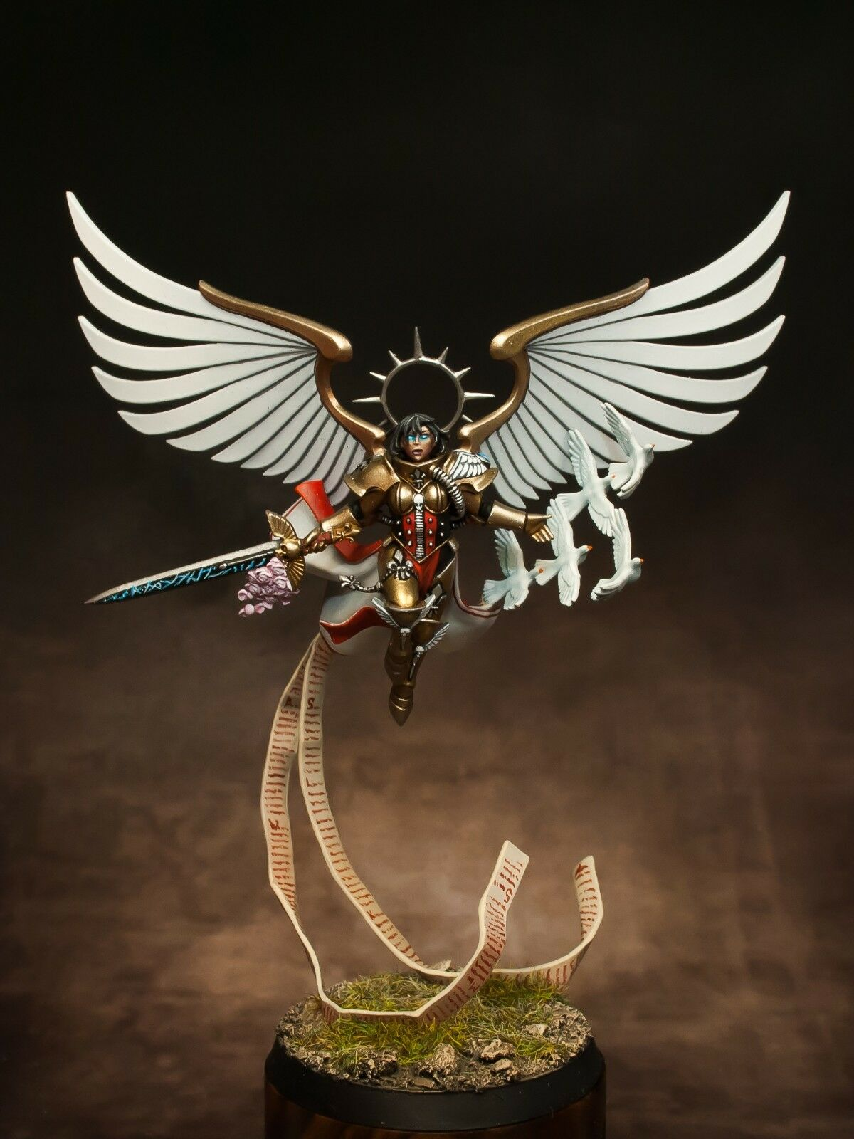 Triumvirate Triumvirate Triumvirate of the Imperium Celestine paint Warhammer 40k GW Games Workshop 2193 49e3d6