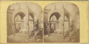 Sant-039-Marc-Venezia-Italia-Vintage-Stereo-Albumina-Ca-1865