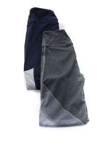 New Balance Beyond Yoga Womens Low Rise Yoga Leggings Blue Gray Size XS Lot 2