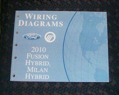 Ford Wiring Diagrams Manual 2010 Fusion Hybrid, Milan ...