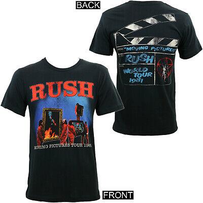 Authentic RUSH Power Windows Tour Slim Fit T-Shirt S M L XL 2XL NEW