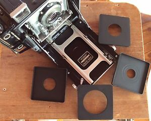 12 lensboards Graflex Speed Graphic 4x5 Large Format Camera Copal #0#1#3 Shutter
