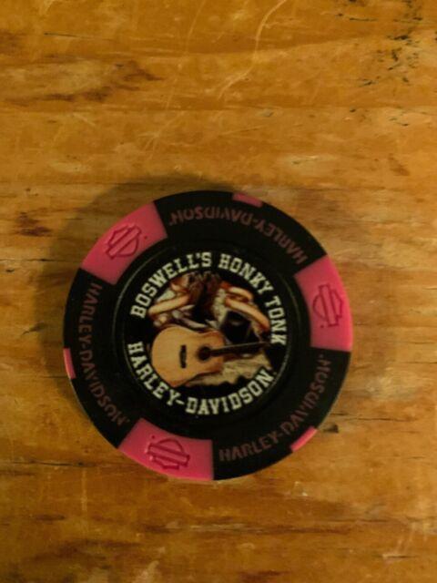 Nashville TN Harley Davidson Poker Chip Boswells Honky Tonk
