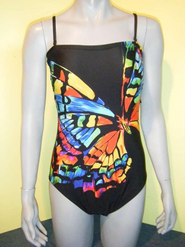 GOTTEX badpak maillot de bain neuf - Papillon Noir 42