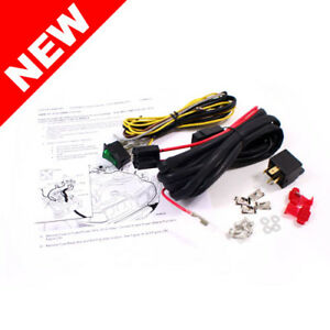 9299 BMW E36 3SERIES FOG LIGHT WIRING HARNESS KIT W SWITCH