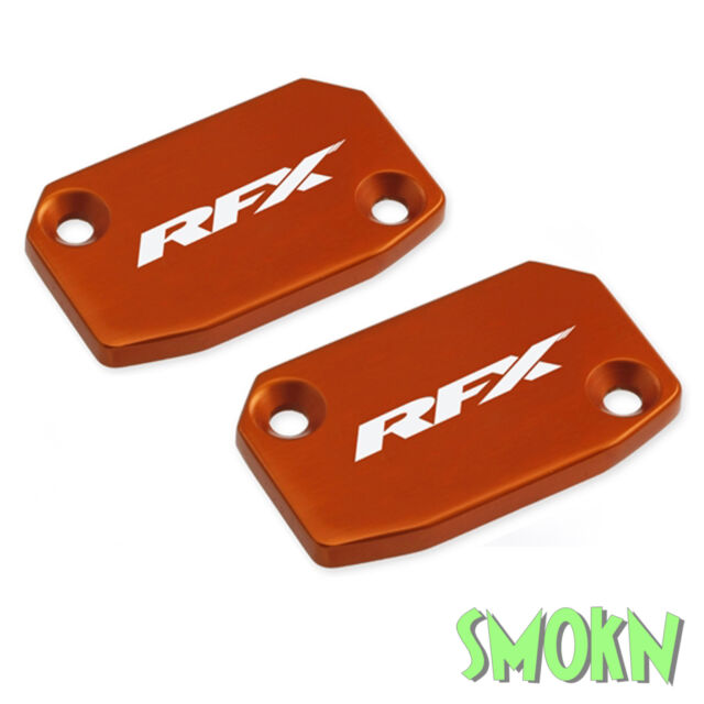 RFX Brake & Clutch Reservoir Caps fit KTM 250 300 EXC 06-13 Master Cylinder Or