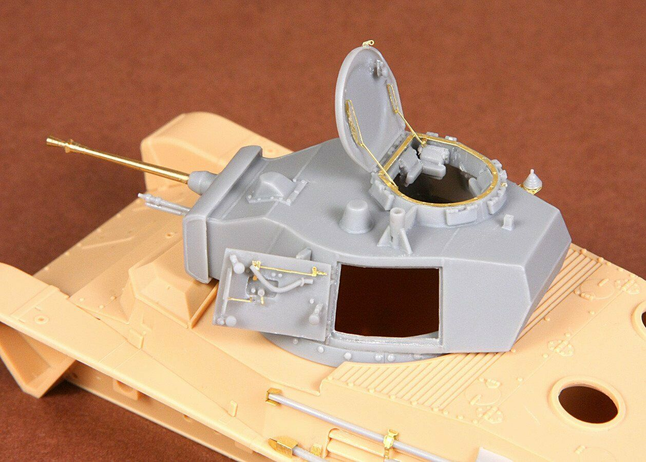 SBS Model 1 35 Toldi I B20 turret - with barrel - for Hobbyboss kit SBS35016