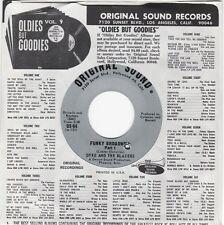 "Mint Arizona Soul/Funk 45 classic DYKE & THE BLAZERS ""Funky Broadway"" Free Ship"