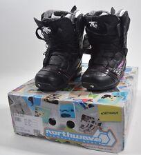 2013 NIB WOMENS NORTHWAVE OPAL SL SNOWBOARD BOOTS $200 5 black