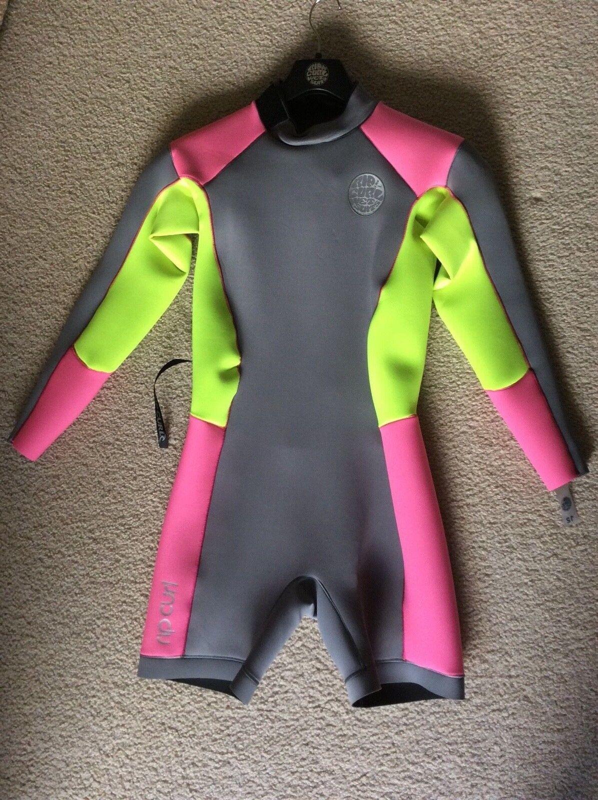Rip Curl , Wetsuit Women, WSP4GW, D Patrol, Size 12, 2.2mm, Pink