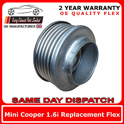 Hyundai Coupe 2.7i 2002-08 Weld-In Replacement Repair Flex Flexi For Down Pipe