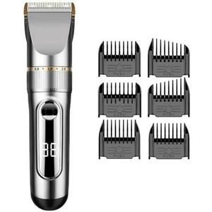 Cordless Hair Clipper, Hair Trimmer, Hair Cutting Kit, USB Rechargeable, Waterproof with LCD Display Toronto (GTA) Preview