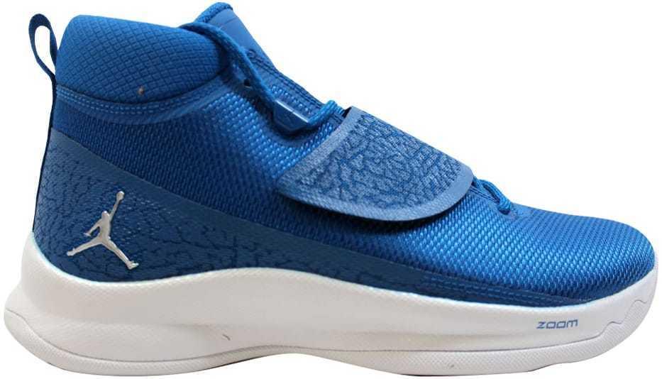 Nike air jordan supercool 5 metallic po team royal / metallic 5 silber 881571-406 mens sz 9,5 a41c84