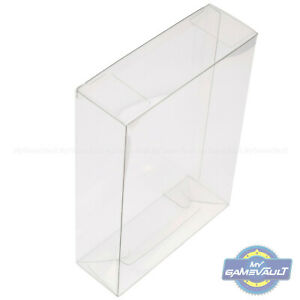 5-x-Triple-Xbox-Game-Box-Protectors-STRONG-0-5m-Plastic-Protective-Display-Case