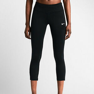 NEW-WOMENS-3-4-BLACK-COMPRESSION-GYM-TIGHTS-RUNNING-THERMAL-LADY-LONG
