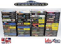 Sega Mega Drive Games multi listing After burner super street fighter + more *