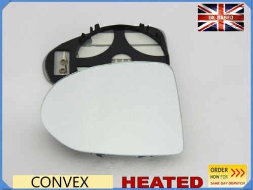 Wing Mirror Glass For BMW AC SCHNITZER TYP-1  Spherical HEATED Left Side #B032