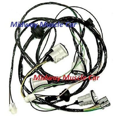1971 chevelle wiring harness rear body tail light wiring harness 71 72 chevy chevelle malibu ss  rear body tail light wiring harness 71