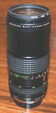 JC Penny Multi Coated Optics 1:4 80-200mm Professional Macro Black Camera Lens