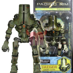 """NECA Pacific Rim Jaeger Cherno Alpha 7"""" Robot Action Figure Collector Toy New"""